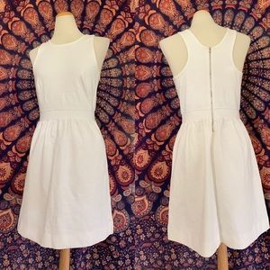 Madewell Sample White Cotton Tank Dress S